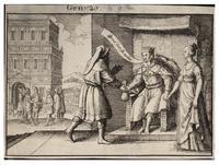 Abimelech rebuking Abraham