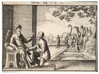 Abraham's servant at the well of Nahor
