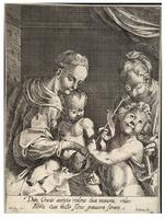 The holy family, after Heintz