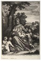 The holy family, after Rottenhammer