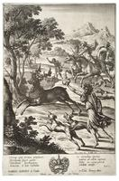 Julus hunting the stag of Tyrrheus
