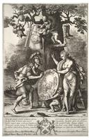 Venus brings Aeneas his weapons