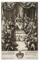King Latinus in council