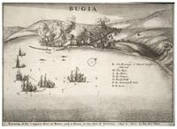 Naval battle at Bugia