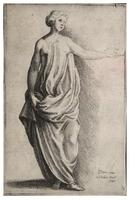 Female figure, after Parmegiano