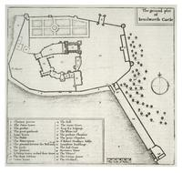 Kenilworth Castle. Plan