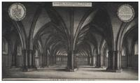 Interior of the crypt of St Paul's (St. Faith)