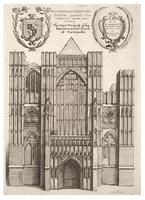 Westminster Abbey. West front