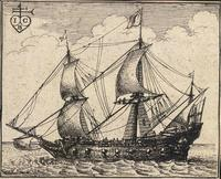 An English warship