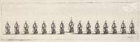 A fleet in line