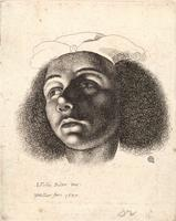 Head of a woman, after Bijlert