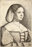 Petrarch's Laura, after Giorgione