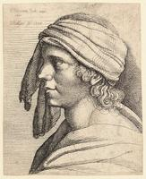 A Man's head, after Screta