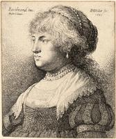 Bust of Saskia, after Rembrandt