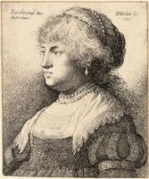 Bust of Saskia, after Rembrandt
