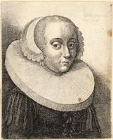 Young woman with ruff