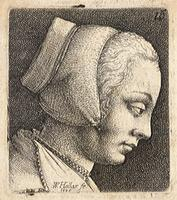 Young woman with bonnet