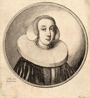 Woman with a coif and pleated ruff