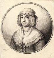 Woman wearing a white kerchief