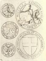 Seals of the Le Harpur family