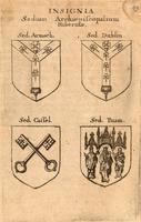 Arms of Irish bishoprics