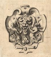 Grotesque coat of arms