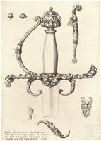 Ornamental sword hilt