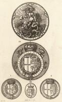 Four seals of the Garter