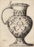 Jug decorated with arabesques