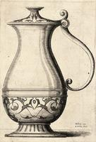 Jug with arabesques on the base