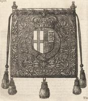 Bag of the seal of the Garter