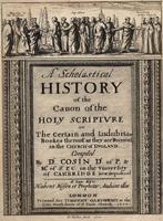 Cosin. A scholastical history