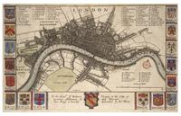 Plan of London before the fire